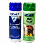 Nikwax Tech Wash 300 ml + Basefresh 300 ml