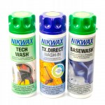 Nikwax Tx.Direct + Tech Wash + Basewash 300 ml